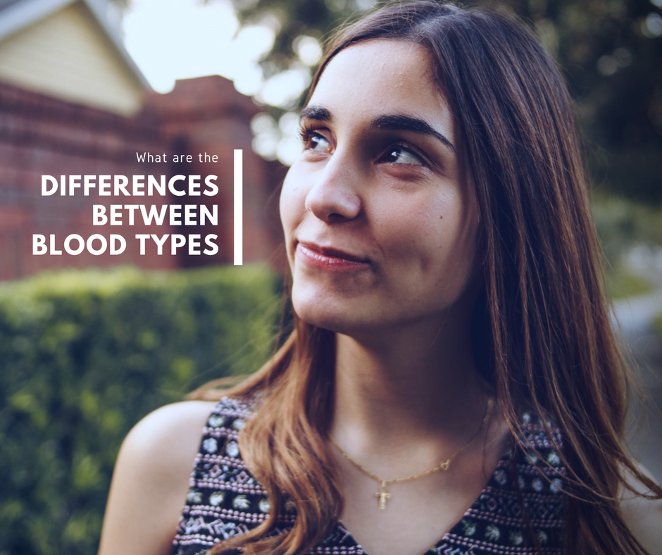 Differences between Blood Types