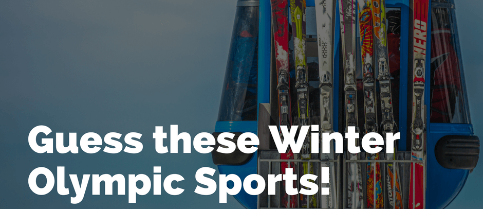 Guess these Winter Olympic Sports!