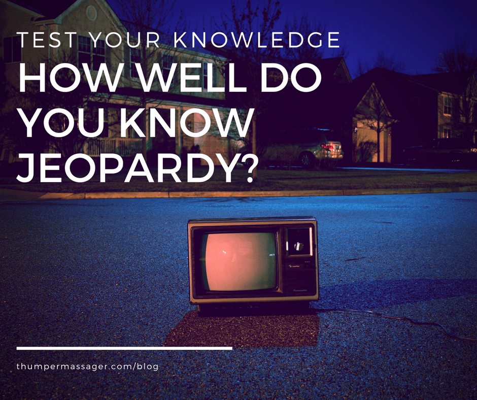 How well do you know Jeopardy?