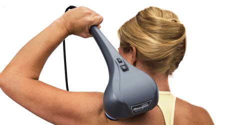 The proven Thumper® drive system delivers a comfortable and penetrating tapotement action into the muscles, with virtually no energy kick back to the handle.